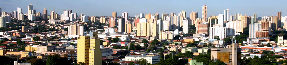 Campo Grande vista de cima