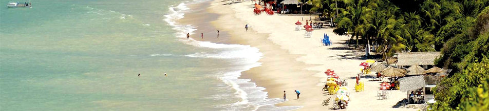 Bela praia em João Pessoa