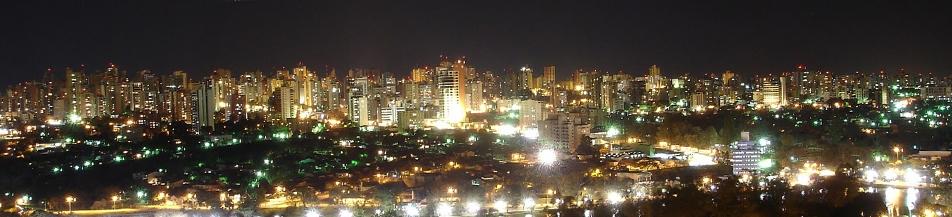 Noite em Londrina