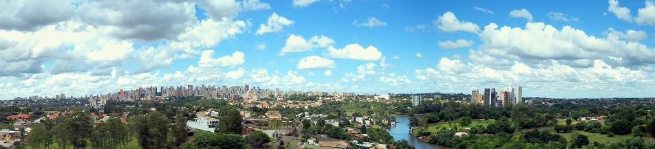 Bela panorâmica de Londrina