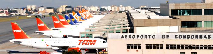 Aeroporto de Congonhas - São Paulo