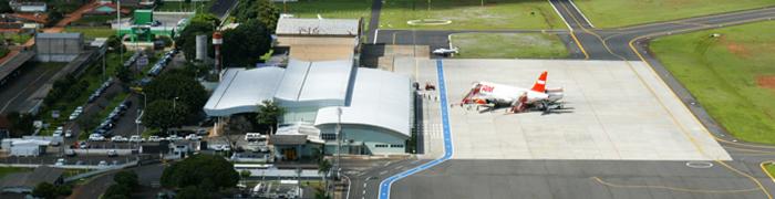 Aeroporto de Uberlândia - Ten. Cel. Av. César Bombonato