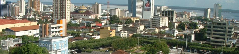 Manaus vista de cima