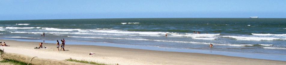 Praia em Navegantes - SC