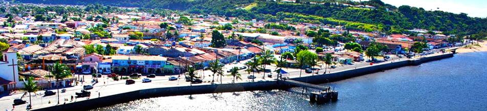 Porto Seguro vista de cima