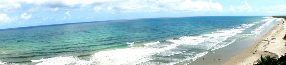 Bela praia em Porto Seguro